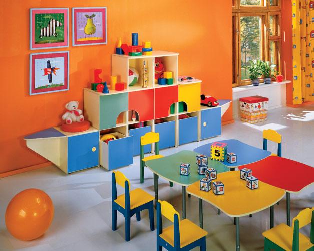 Дизайн игровых комнат в детских садах